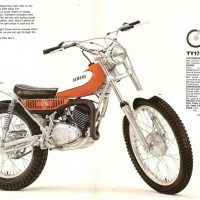 Yamaha TY 175C.